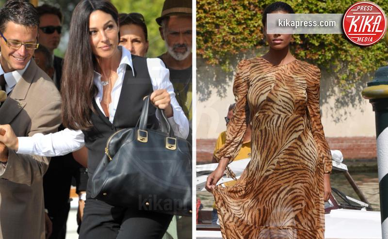 Tina Kunakey, Monica Bellucci - Venezia - 03-09-2018 - Venezia 75, bestiale Tina Kunakey! Lady Cassel azzanna il Lido