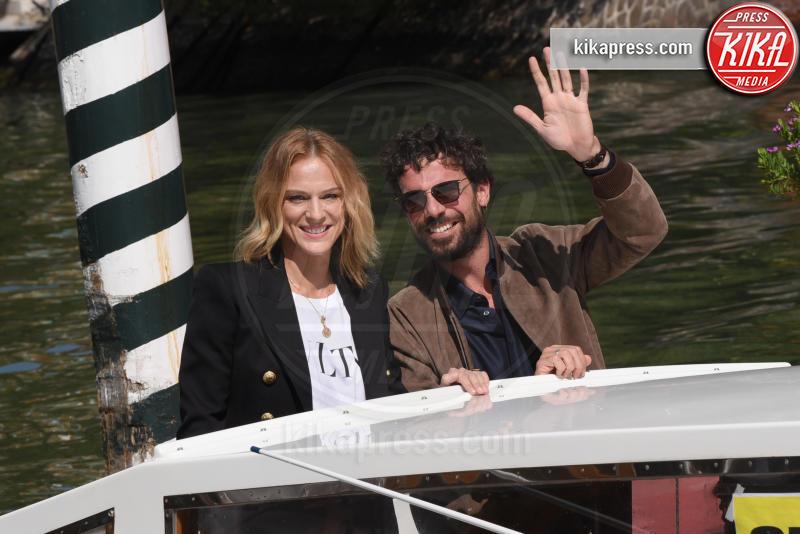 Antonia Liskova, Francesco Montanari - Venezia - 03-09-2018 - Venezia 75: Chiara Iezzi & Co, al Lido sbarcano gli italiani
