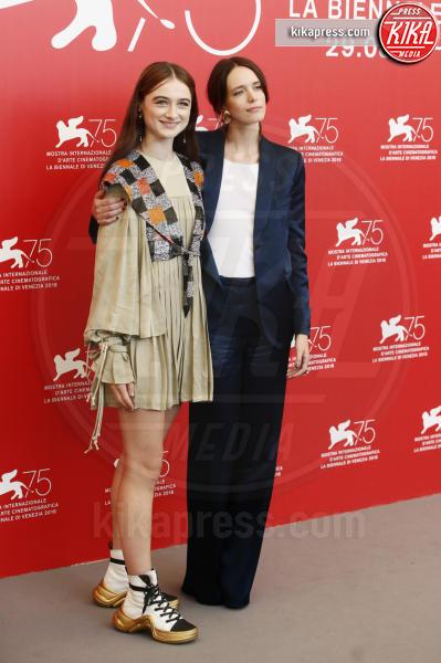Raffey Cassidy, Stacy Martin - Venezia - 04-09-2018 - Venezia 75: Natalie Portman presenta Vox Lux
