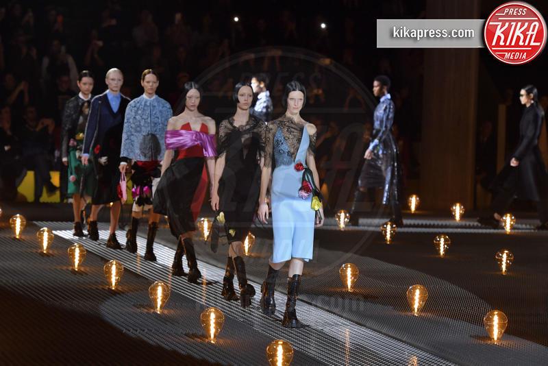 Modella - Milano - 21-02-2019 - Milano Fashion Week: la sfilata di Prada