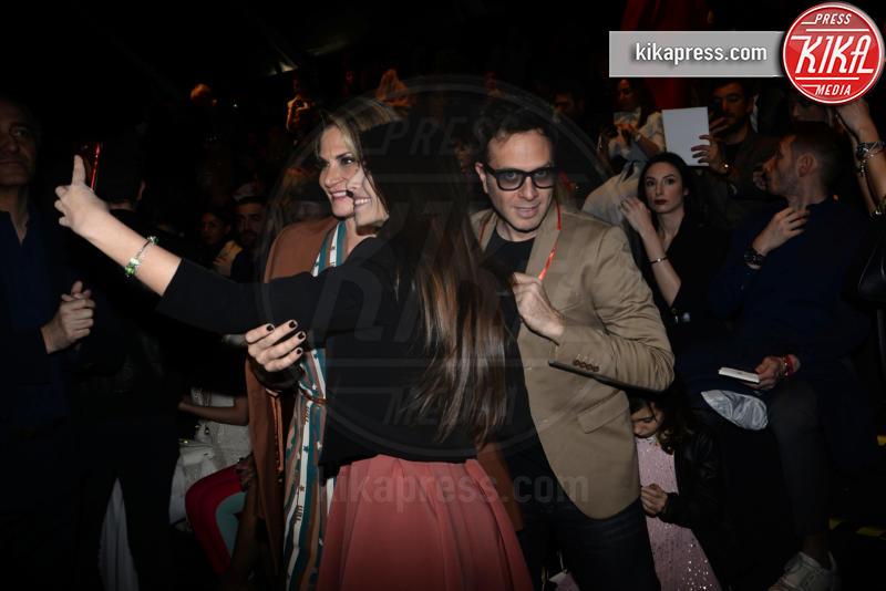 Gabriele Parpiglia - Milano - 23-02-2019 - Simona Ventura e Giovanni Terzi, due piccioncini in prima fila