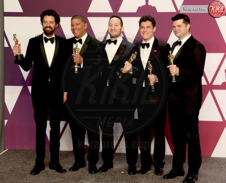 Rodney Rothman, Bob Persichetti, Christopher Miller, Phil Lord, Peter Ramsey - Los Angeles - 24-02-2019 - Oscar 2019: vincono Roma, Green Book, Bohemian Rhapsody