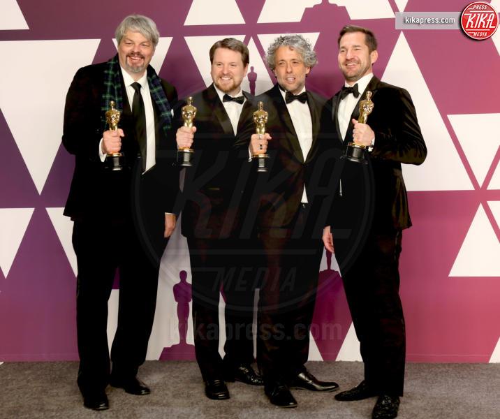 Tristan Myles, J.D. Schwalm, Paul Lambert, Ian Hunter - Los Angeles - 24-02-2019 - Oscar 2019: vincono Roma, Green Book, Bohemian Rhapsody
