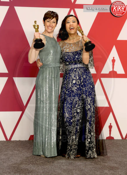 Domee Shi, Becky Neiman-Cobb - Los Angeles - 24-02-2019 - Oscar 2019: vincono Roma, Green Book, Bohemian Rhapsody