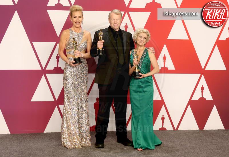 Patricia Dehaney, Greg Cannom, Kate Biscoe - Los Angeles - 24-02-2019 - Oscar 2019: vincono Roma, Green Book, Bohemian Rhapsody