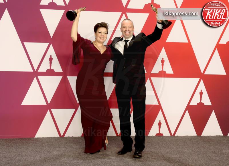 Nina Hartstone, John Warhurst - Los Angeles - 24-02-2019 - Oscar 2019: vincono Roma, Green Book, Bohemian Rhapsody