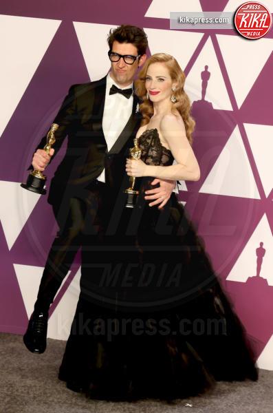 GUY NATTIV, Jaime Ray Newman - Los Angeles - 24-02-2019 - Oscar 2019: vincono Roma, Green Book, Bohemian Rhapsody