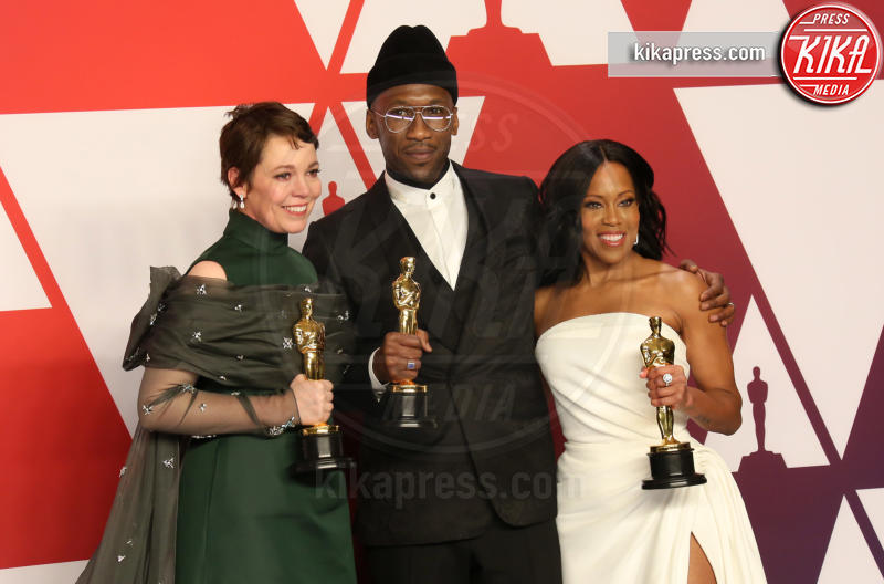 Mahershala Ali, Olivia Colman, Regina King - Los Angeles - 24-02-2019 - Oscar 2019: vincono Roma, Green Book, Bohemian Rhapsody
