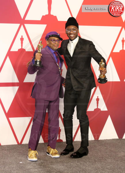 Mahershala Ali, Spike Lee - Los Angeles - 24-02-2019 - Oscar 2019: vincono Roma, Green Book, Bohemian Rhapsody