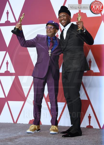 Mahershala Ali, Spike Lee - Hollywood - 24-02-2019 - Oscar 2019: vincono Roma, Green Book, Bohemian Rhapsody