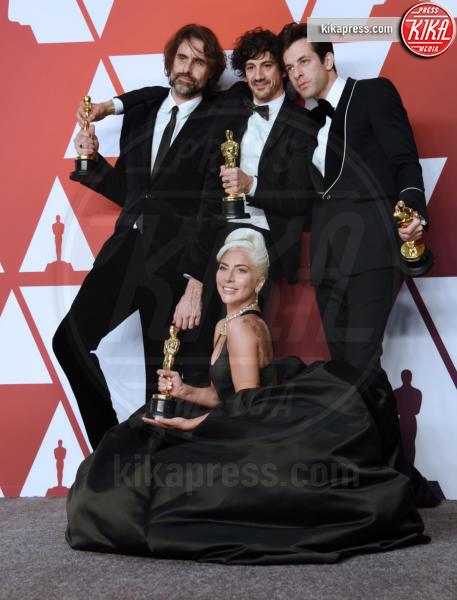 Anthony Rossomando, Andrew Wyatt, Mark Ronson, Lady Gaga - Hollywood - 24-02-2019 - Oscar 2019: vincono Roma, Green Book, Bohemian Rhapsody