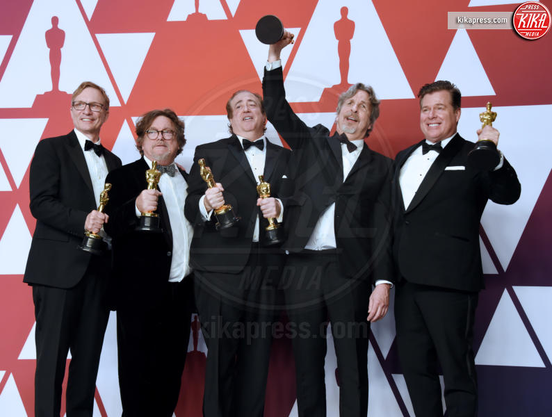 Charles B. Wessler, Brian Currie, Nick Vallelonga, Jim Burke, Peter Farrelly - Hollywood - 24-02-2019 - Oscar 2019: vincono Roma, Green Book, Bohemian Rhapsody