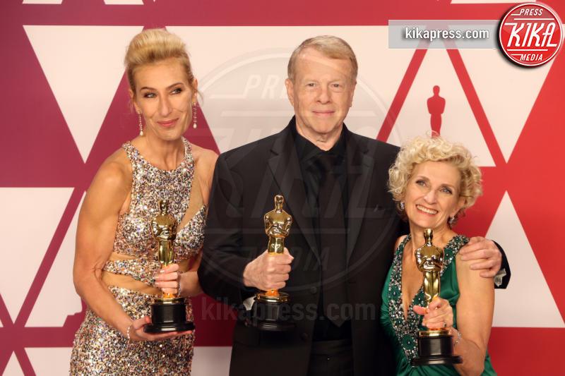 Patricia Dehaney, Greg Cannom, Kate Biscoe - Hollywood - 24-02-2019 - Oscar 2019: vincono Roma, Green Book, Bohemian Rhapsody