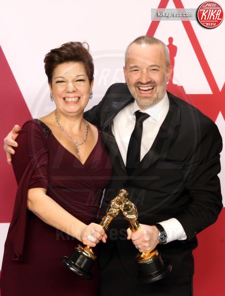 Nina Hartstone, John Warhurst - Hollywood - 24-02-2019 - Oscar 2019: vincono Roma, Green Book, Bohemian Rhapsody
