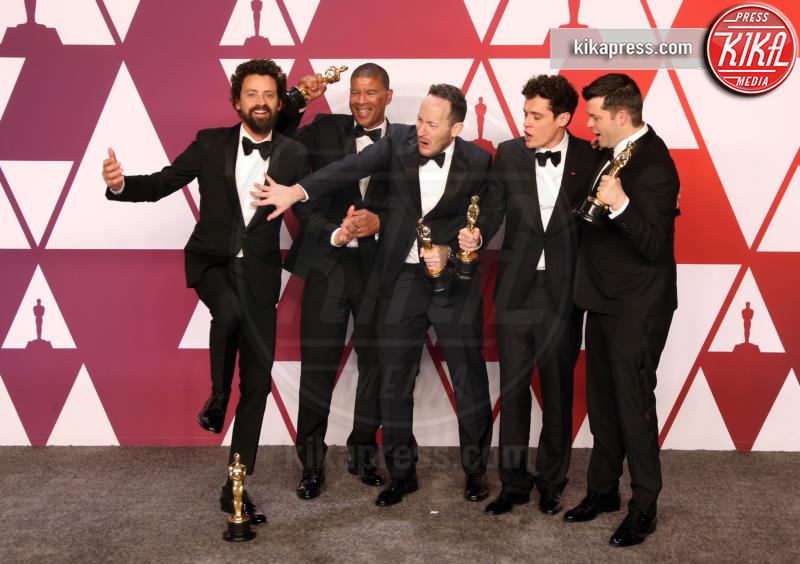 Rodney Rothman, Bob Persichetti, Christopher Miller, Phil Lord, Peter Ramsey - Hollywood - 24-02-2019 - Oscar 2019: vincono Roma, Green Book, Bohemian Rhapsody
