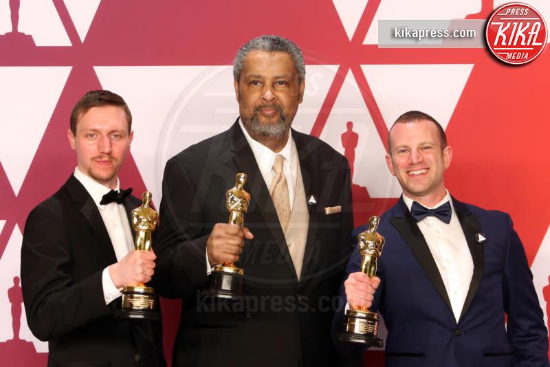 Kevin Willmott, Charlie Wachtel, David Rabinowitz - Hollywood - 24-02-2019 - Oscar 2019: vincono Roma, Green Book, Bohemian Rhapsody