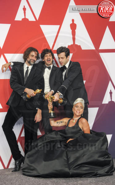 Anthony Rossomando, Andrew Wyatt, Mark Ronson, Lady Gaga - Los Angeles - 25-02-2019 - Oscar 2019: vincono Roma, Green Book, Bohemian Rhapsody