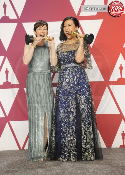 Domee Shi, Becky Neiman-Cobb - Los Angeles - 25-02-2019 - Oscar 2019: vincono Roma, Green Book, Bohemian Rhapsody