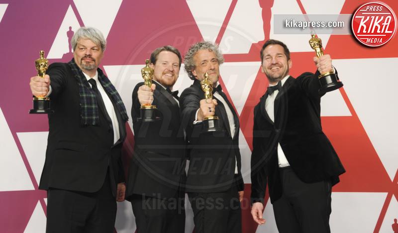 Tristan Myles, J.D. Schwalm, Paul Lambert, Ian Hunter - Los Angeles - 25-02-2019 - Oscar 2019: vincono Roma, Green Book, Bohemian Rhapsody