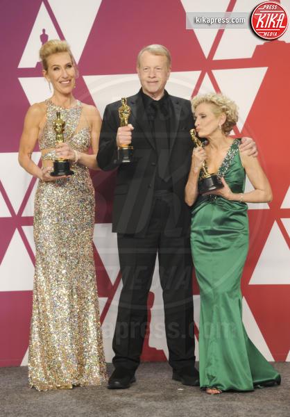 Patricia Dehaney, Greg Cannom, Kate Biscoe - Los Angeles - 25-02-2019 - Oscar 2019: vincono Roma, Green Book, Bohemian Rhapsody
