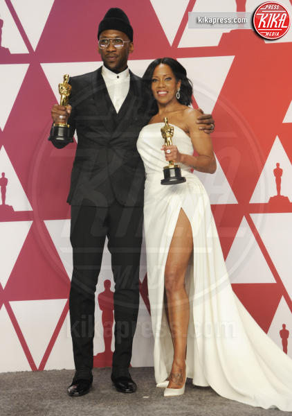 Mahershala Ali, Regina King - Los Angeles - 25-02-2019 - Oscar 2019: vincono Roma, Green Book, Bohemian Rhapsody