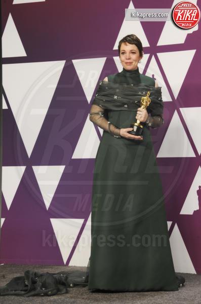 Olivia Colman - Los Angeles - 25-02-2019 - Oscar 2019: vincono Roma, Green Book, Bohemian Rhapsody