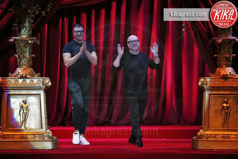 Sfilata Dolce Gabbana, Stefano Gabbana, Domenico Dolce - Milano - 24-02-2019 - MFW: chiudono Dolce & Gabbana con la loro Eleganza