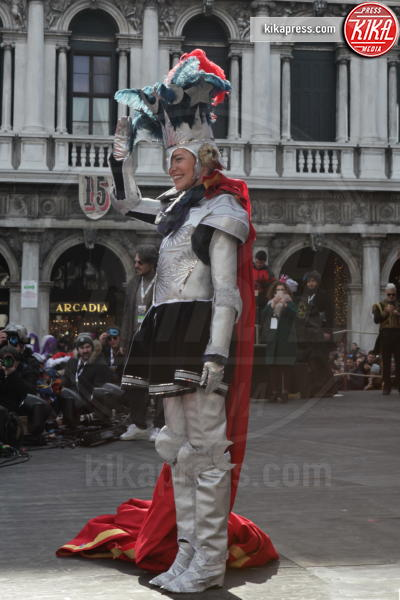 Micol Rossi - Venezia - 24-02-2019 - Carnevale: Micol Rossi, l'angelo guerriero di piazza San Marco
