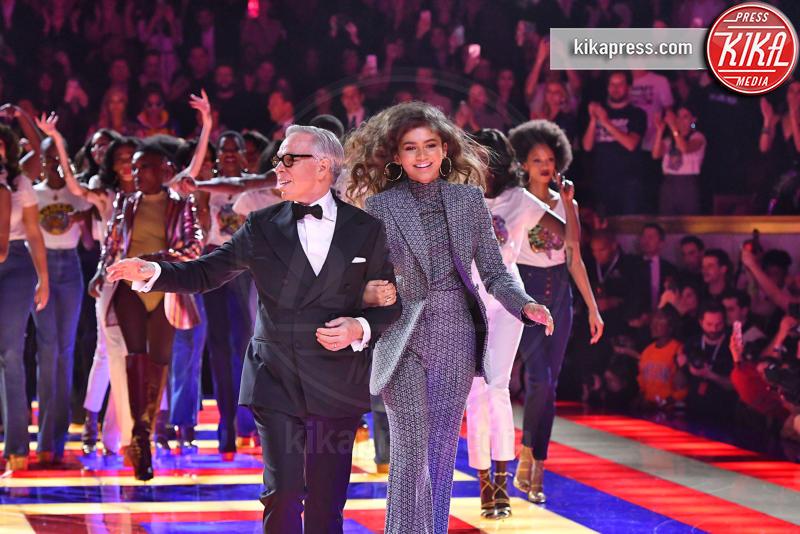 Sfilata TommyXZendaya, Zendaya, Tommy Hilfiger - Parigi - 02-03-2019 - Parigi Fashion Week: Grace Jones show per TommyXZendaya