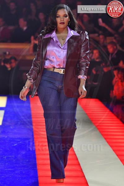 Sfilata TommyXZendaya, Modella - Parigi - 02-03-2019 - Parigi Fashion Week: Grace Jones show per TommyXZendaya