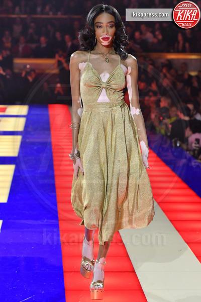 Sfilata TommyXZendaya, Winnie Harlow - Parigi - 02-03-2019 - Parigi Fashion Week: Grace Jones show per TommyXZendaya