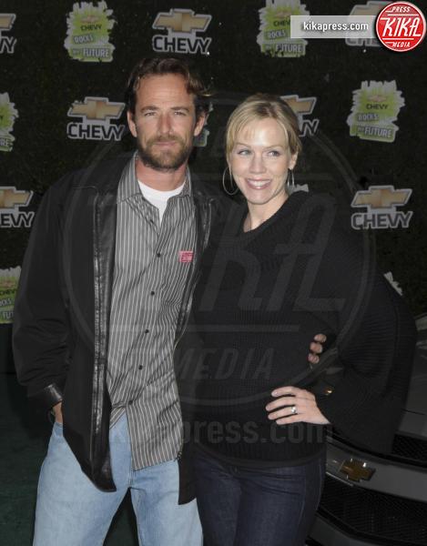 Luke Perry, Jennie Garth - Burbank - 19-02-2008 -  Luke Perry, ecco a quanto ammonta l'eredità per i figli