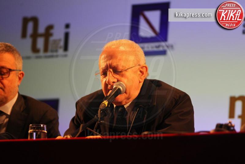 Vincenzo De Luca - Napoli - 14-03-2019 - Napoli Teatro Festival Italia: il via alla decima edizione