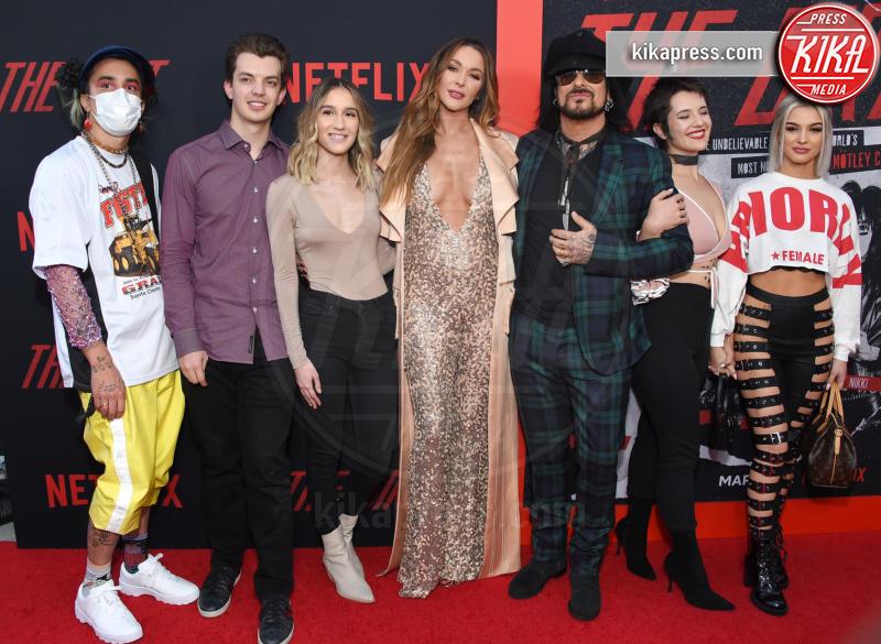Courtney Sixx, Nikki Sixx - Hollywood - 18-03-2019 - Paris Jackson sul red carpet dopo i rumors sul tentato suicidio