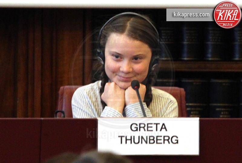 Greta Thunberg - Roma - 18-04-2019 - Time: Greta Thunberg è la Persona dell'anno