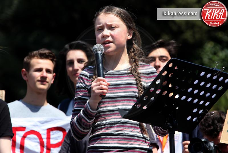 Fridays for Future, Greta Thunberg - Roma - 19-04-2019 - Time: Greta Thunberg è la Persona dell'anno