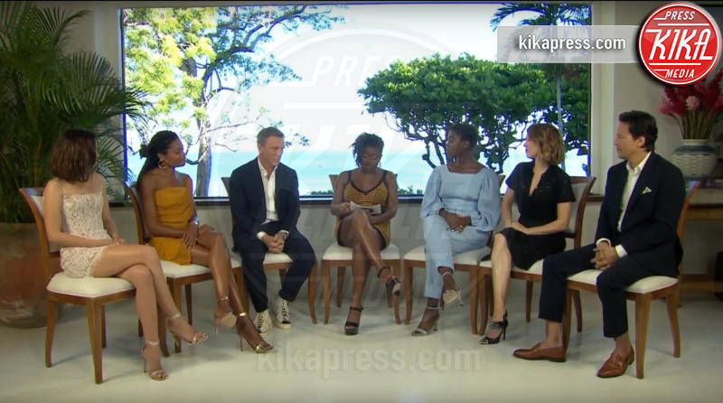 Cary Joji Fukunaga, Lashana Lynch, Ana de Armas, Lea Seydoux, Naomie Harris, Daniel Craig - 25-04-2019 - Bond 25, riprese sospese! Ecco spiegato il motivo