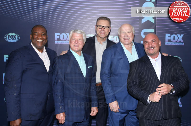 Jimmy Johnson, Terry Bradshaw - New York - 13-05-2019 - Beverly Hills 90210: reunion ufficiale per i palinsesti Fox!