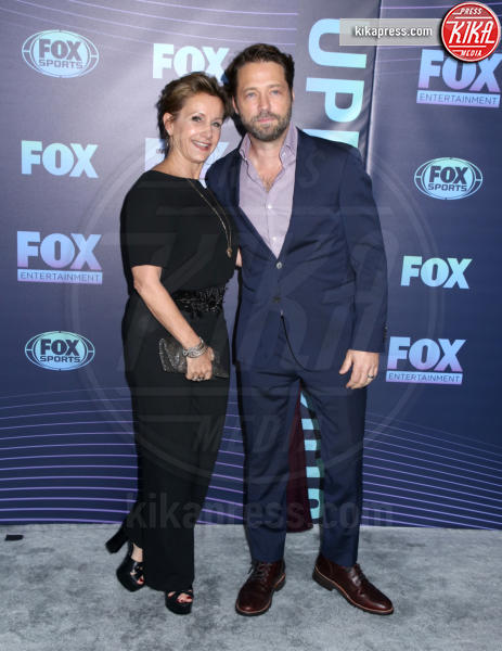 Gabrielle Carteris, Jason Priestley - New York - 13-05-2019 - Beverly Hills 90210: reunion ufficiale per i palinsesti Fox!