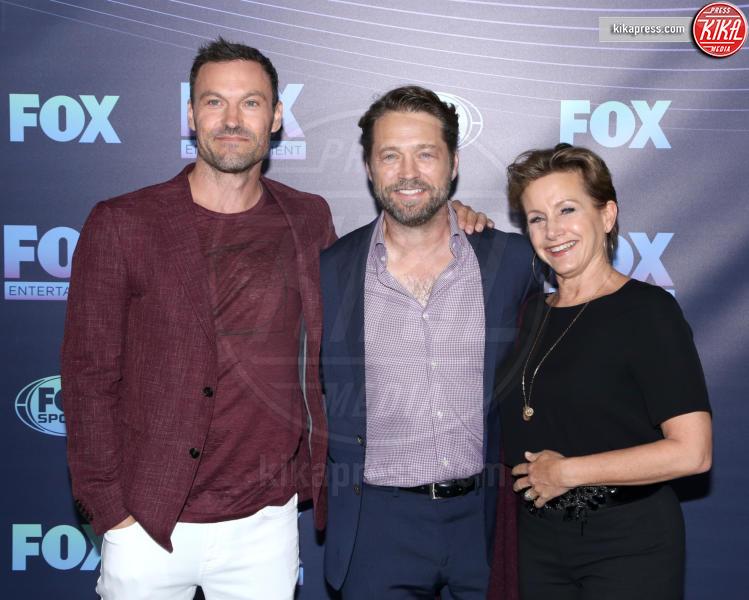 Gabrielle Carteris, Brian Austin Green, Jason Priestley - New York - 13-05-2019 - Beverly Hills, i protagonisti ieri e oggi, la data italiana
