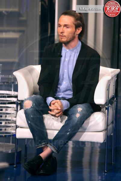 Raffaele Sollecito - Roma - 18-06-2019 - Raffaele Sollecito a Porta a Porta: