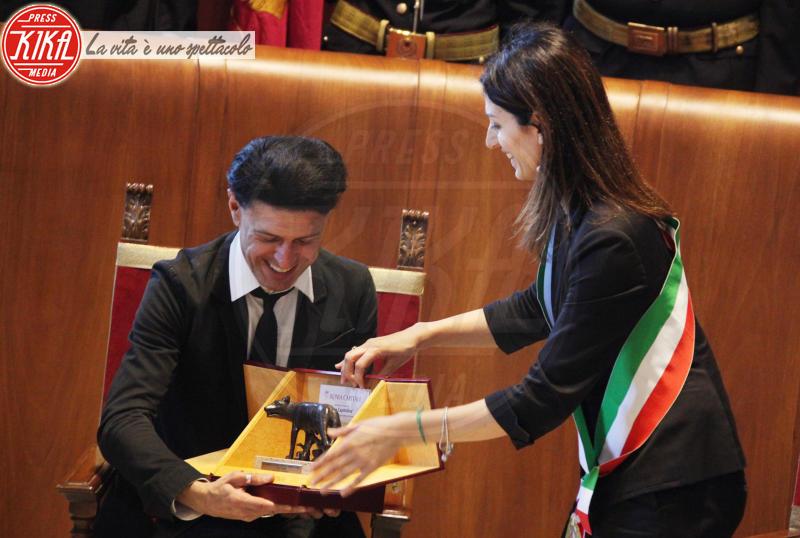 Virginia Raggi, Ezio Bosso - Roma - 20-06-2019 - Il Maestro Ezio Bosso è cittadino onorario di Roma