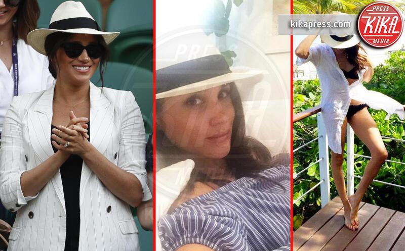Meghan Markle - Wimbledon - 08-07-2019 - Il cappello preferito di Meghan Markle ha un prezzo accessibile