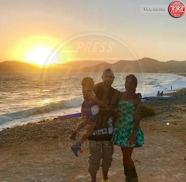 Claudia Lai Nainggolan, Aysha Nainggolan, Radja Nainggolan - Milano - 11-07-2019 - Dramma Nainggolan, la moglie Claudia inizia la chemioterapia