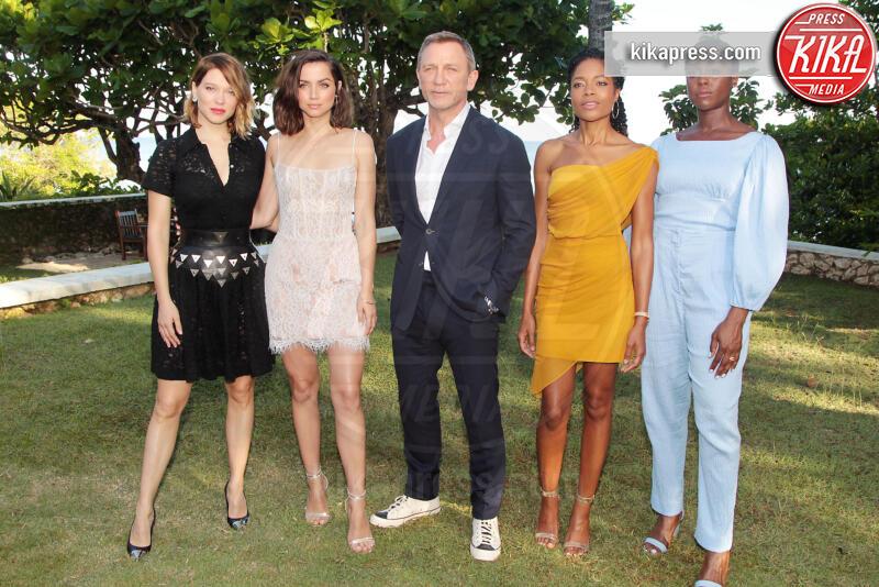 Lashana Lynch, Ana de Armas, Lea Seydoux, Naomie Harris, Daniel Craig - 25-04-2019 - Da 007 a Mata Hari: scoppia la passione per le spie al femminile