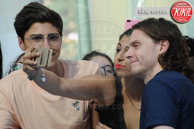Evan Peters - Giffoni - 23-07-2019 - Giffoni 2019, Evan Peters entusiasta: