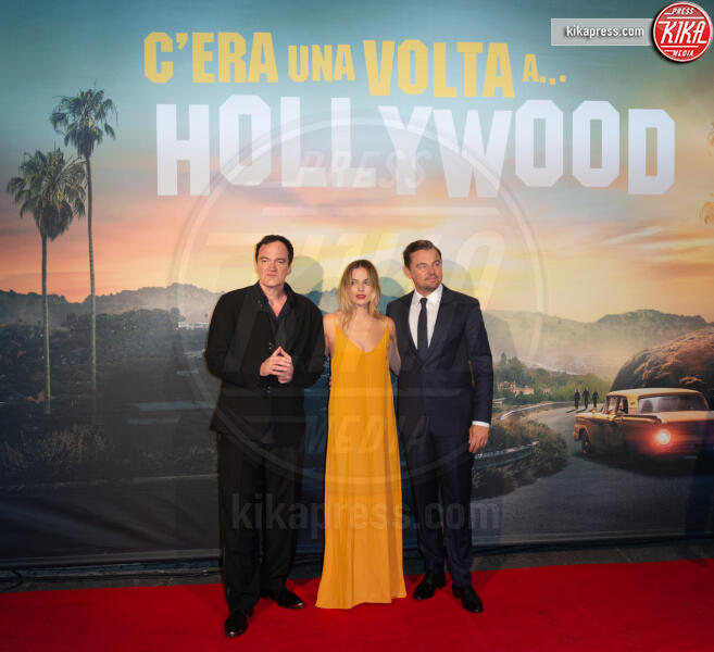 Leonardo Di Caprio, Margot Robbie, Quentin Tarantino - Roma - 03-08-2019 - Golden Globes 2020: alle nomination trionfo The Crown e Scorsese
