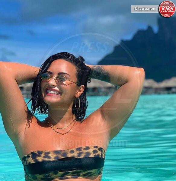 Demi Lovato - Hollywood - 06-09-2019 - Rivoluzione Demi Lovato, mostra il lato b senza fotoritocco