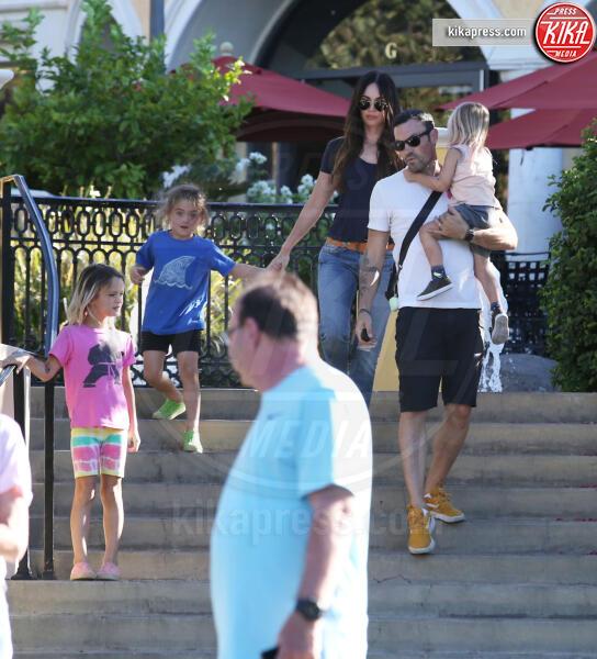 Journey River Green, Noah Green, Bodhi Ransom Green, Megan Fox, Brian Austin Green - Calabasas - 07-09-2019 - Megan Fox e Brian Austin Green, Noah è sempre più