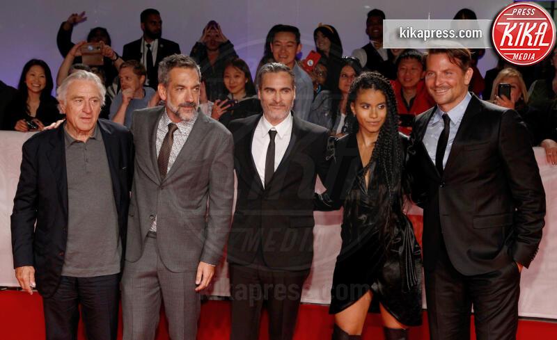 Zazie Beetz, Todd Phillips, Joaquin Phoenix, Bradley Cooper, Robert De Niro - Toronto - 10-09-2019 - Toronto 2019: Joker fa sorridere anche Bradley Cooper